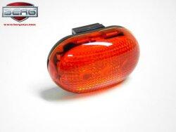 BERG LED baklys rød
