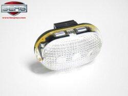 BERG LED frontlys hvit