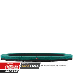 Grand Champion Ingroud grønn/grå 350x250cm oval