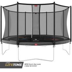 Favorit 200 cm grå + Comfort nett